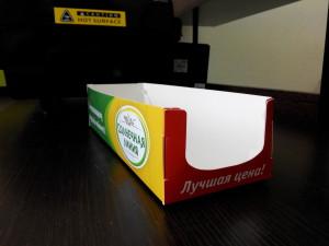 Коробка лоток под продукцию