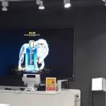Транслюцентный баннер с силиконовым профилем